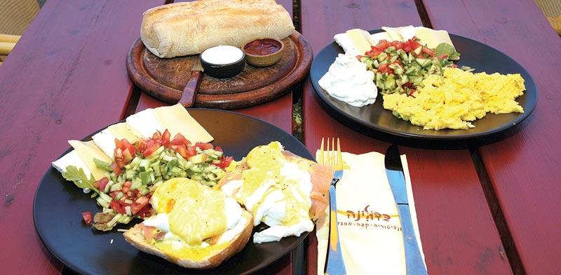 ארוחת בוקר, מזון, אוכל / צילום: תמר מצפי