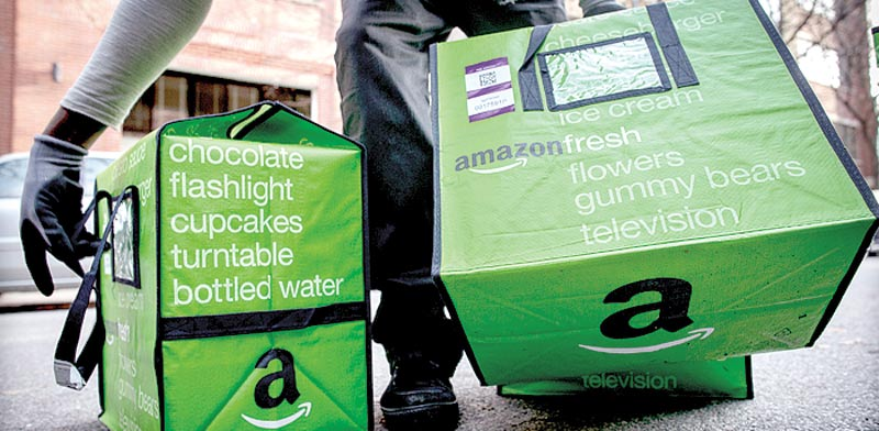 Amazon delivery, photo: Reuters