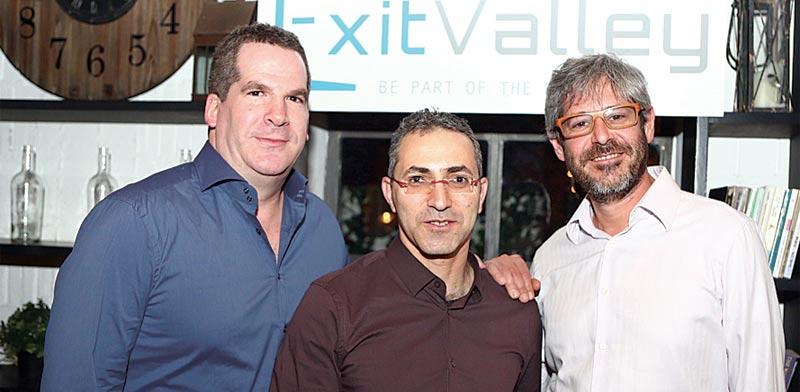 צוות המייסדים של Exit Valley / צילום: יחצ