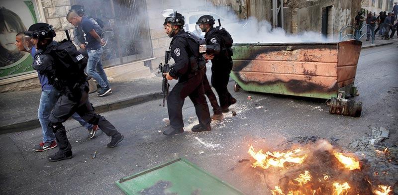 מהומות בנצרת / צילום: רויטרס