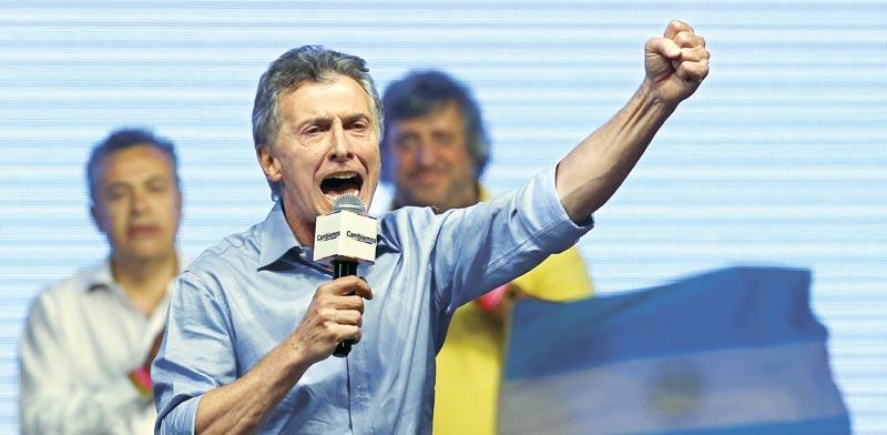 מאוריסיו מאקרי נשיא ארגנטינה/ צילום:רויטרס