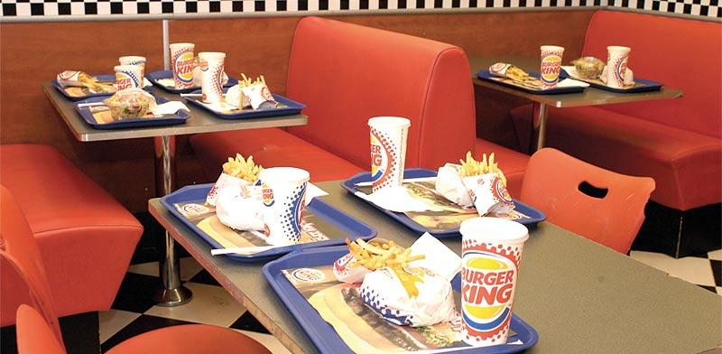 Burger King photo: Tamar Matzapi