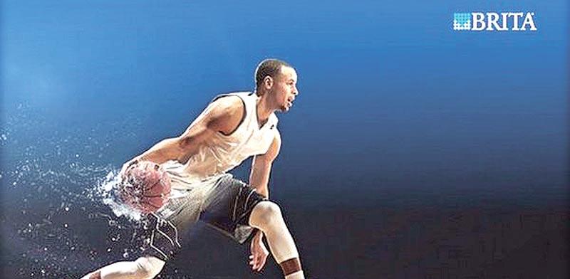 סטף קרי בפרסומת לבריטה/  צילום:יחצ