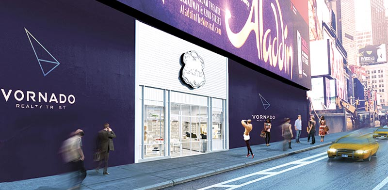 הדמיית הסניף בניו יורק/ צילום:יחצ