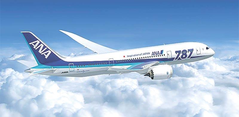 מטוס של חברת התעופה היפנית ANA / צילום: יחצ