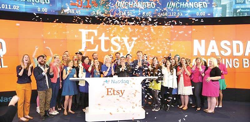 ראשי חברת etsy / צילום: רויטרס