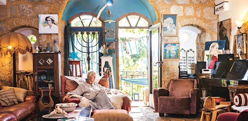 בית האומנית בריגיטה יוארי / צילום:אביטל הירש