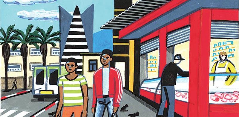 אמנות אורבנית: מי מכיר את העיר שבקיר