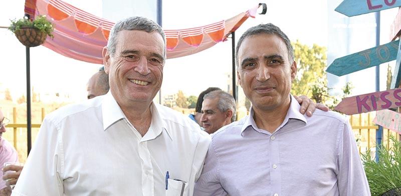 אלדד בן משה ודוד מטלון / צילום: אלעד גוטמן