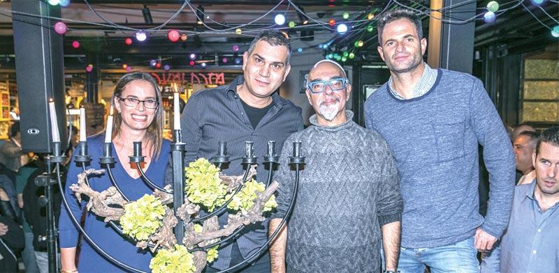 ירון קסטנבוים, ישראל אהרוני, שרון מומן ושירה ברף / צילום: ערן לם