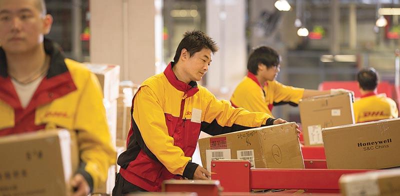 DHL  / צילום: חברת השילוח DHL