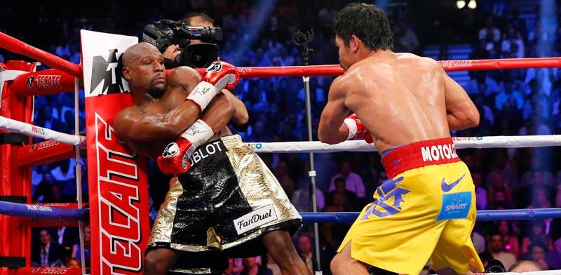 קרב האיגרוף בין פלויד מייוודר למני פאקיאו / צלם: רויטרס