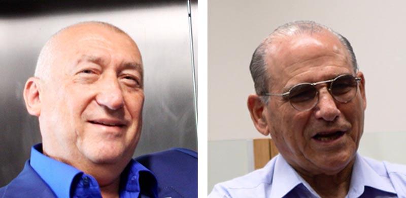 גד זאבי ומיכאל צ'רנוי / צילום: שלומי יוסף