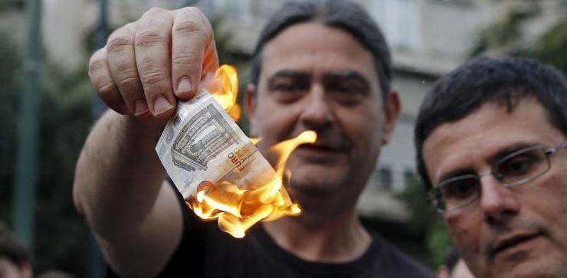 יוון חדלת פירעון, משבר, אירו / צילום: וידאו