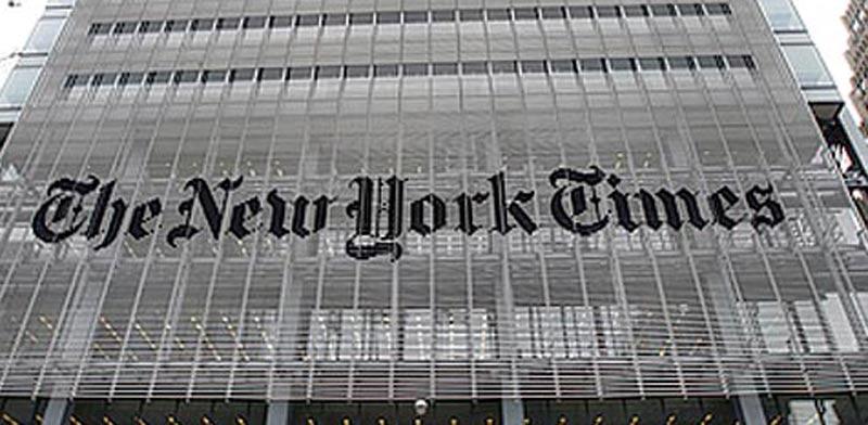 """""""ניו יורק טיימס"""" / צילום: רויטרס"""