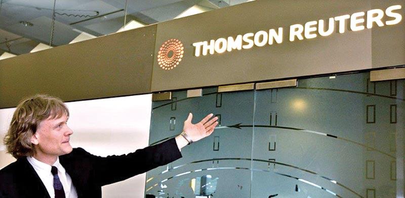 ספקית שירותי המידע Thomson Reuters / צילום: רויטרס