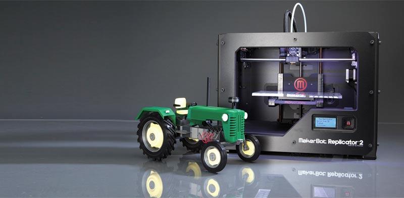 מדפסת לדוגמה של Makerbot / צילום: יחצ
