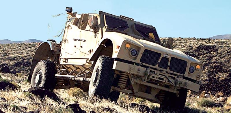 רכב צבאי של אושקוש / צילום: יחצ