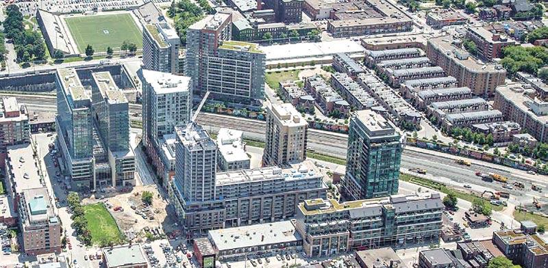 נכסים ופרויקטים של אורבנקורפ בקנדה / צילום: מצגת החברה