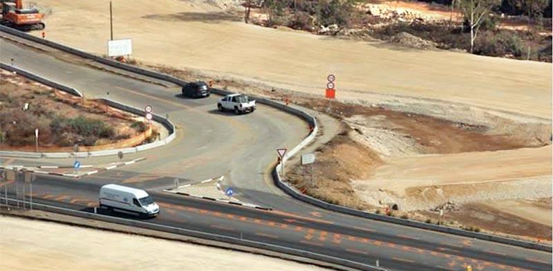 road project Golani Massad PR