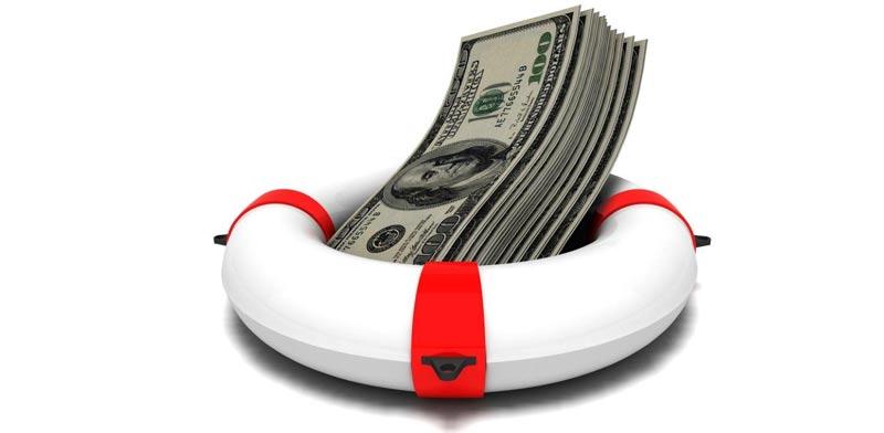 דולר- כסף- עזרה פיננסית- גלגל הצלה / צילום: שאטרסטוק