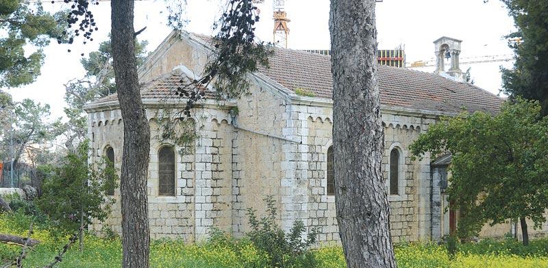 המושבה הגרמנית ירושלים - הכנסייה הארמנית / צילום: איל יצהר