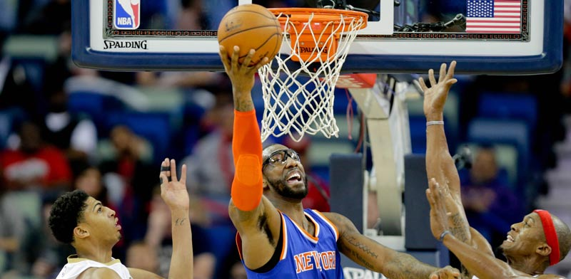 אמרה סטודמאייר כוכב ניו יורק ניקס / צילום: רויטרס