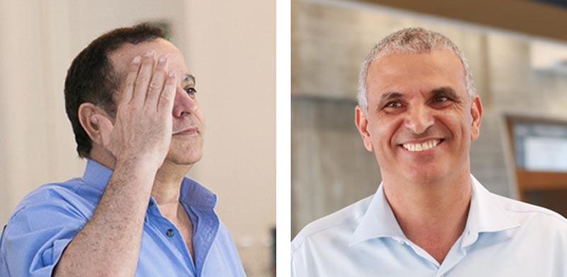 משה כחלון קובי מימון / צילום: שלומי יוסף