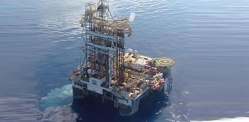 Leviathan drilling photo: Channel 10