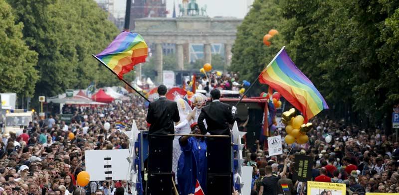 מצעד הגאווה /קרדיט: Shutterstock/ א.ס.א.פ קרייטיב