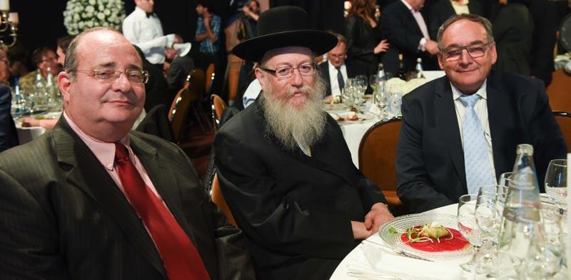 זאב רוטשטיין, יעקב ליצמן וארז מלצר/ צילום: אבי חיון