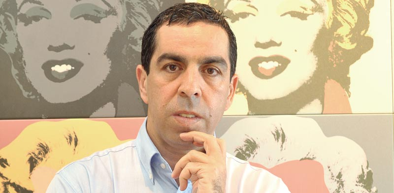 """אבי מוטולה, לשעבר מנכ""""ל אפריקה ישראל תעשיות / צילום: תמר מצפי"""