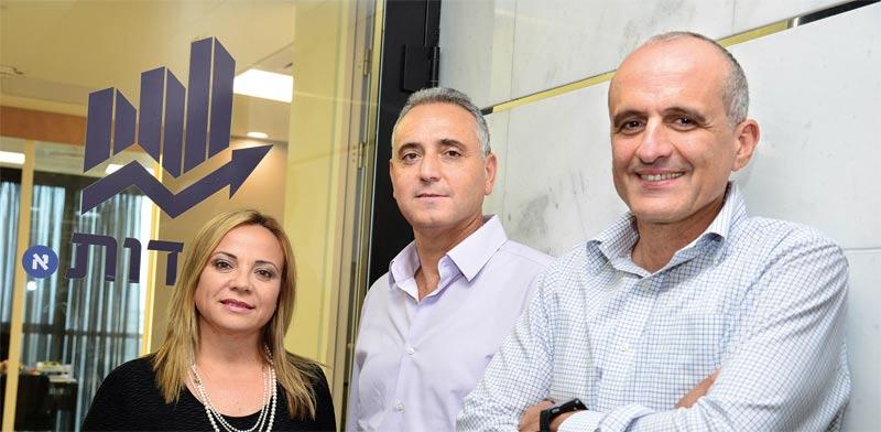 דוד ברוך, יעקב סיסו ואסתי פרידמן / צילום: תמר מצפי