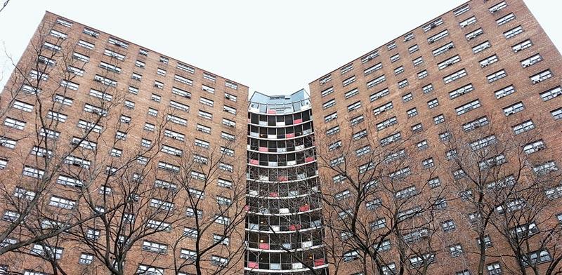 הארלם מנהטן פרוייקט דירות ציבורי / צילום: מירב מורן