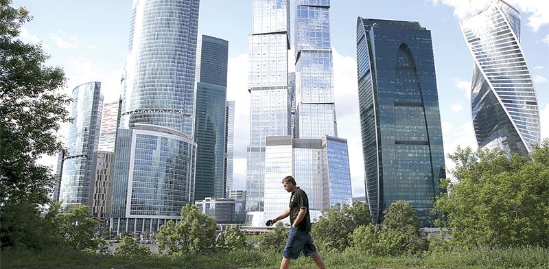 מרכז העסקים של מוסקבה / צילום: רויטרס