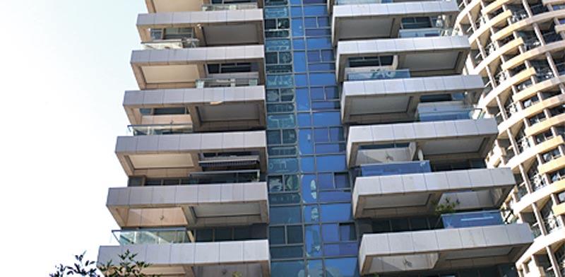 דירת 4 חדרים  בתל אביב, ברחוב ניסים אלוני בפארק צמרת / צילום: תמר מצפי