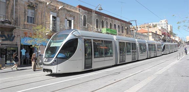 Jerusalem Light Rail  photo: Eyal Izhar
