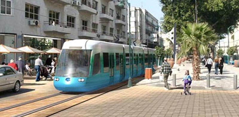 Tel Aviv light railway