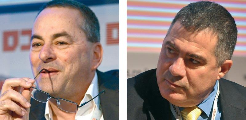 ראול סרוגו ורוני בריק / צילום: תמר מצפי