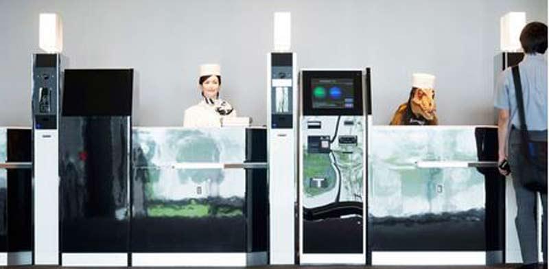 מלון רובוטים/ צילום:מתוך אתר המלון