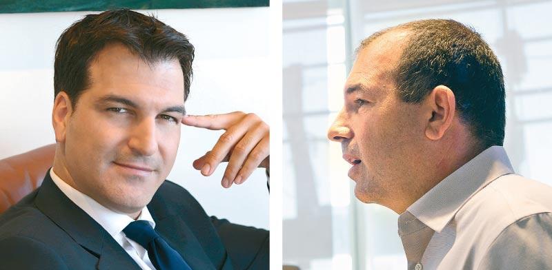 """אמיר ברמלי ועו""""ד ארז חבר / צילום: שלומי יוסף ואיל פרידמן"""