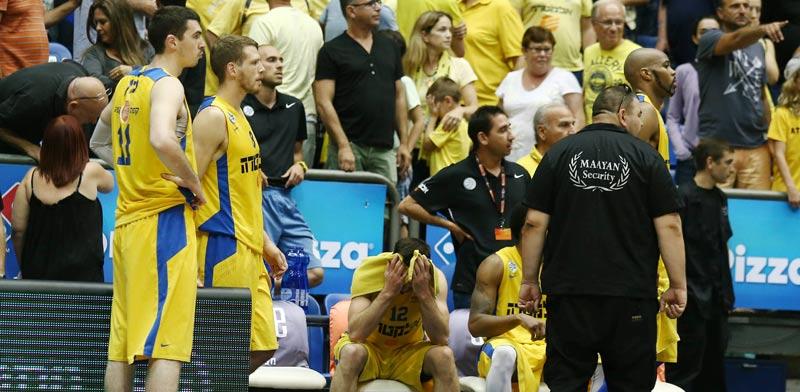 מכבי תל אביב מפסידה לאילת / צילום: אלן שיבר – מינהלת הליגה