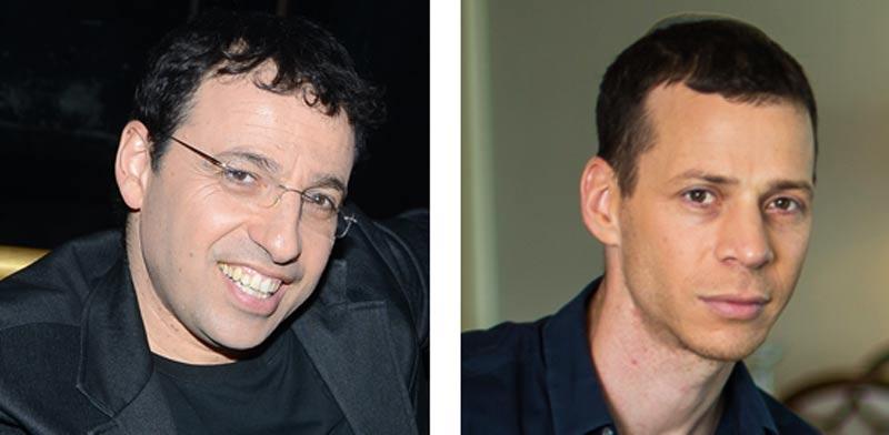 עמית סגל ורביב דרוקר / צילום: אריק סולטן ויוסי כהן