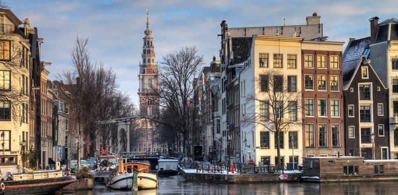 אמסטרדם בחורף / צילום:  Shutterstock/ א.ס.א.פ קרייטיב