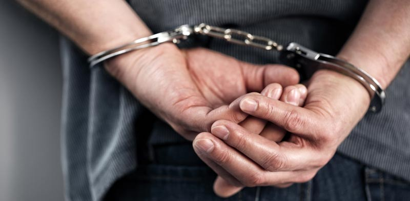 arrest photo: Shutterstock