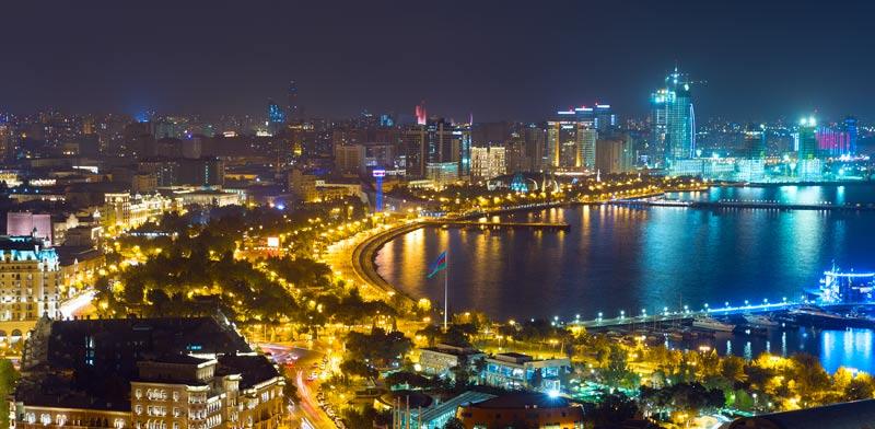 באקו בירת אזרבייג'אן/ צילום:  Shutterstock/ א.ס.א.פ קרייטיב
