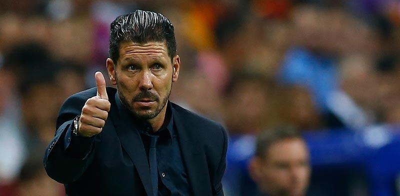 דייגו סימאונה מאמן אתלטיקו מדריד / צלם: רויטרס