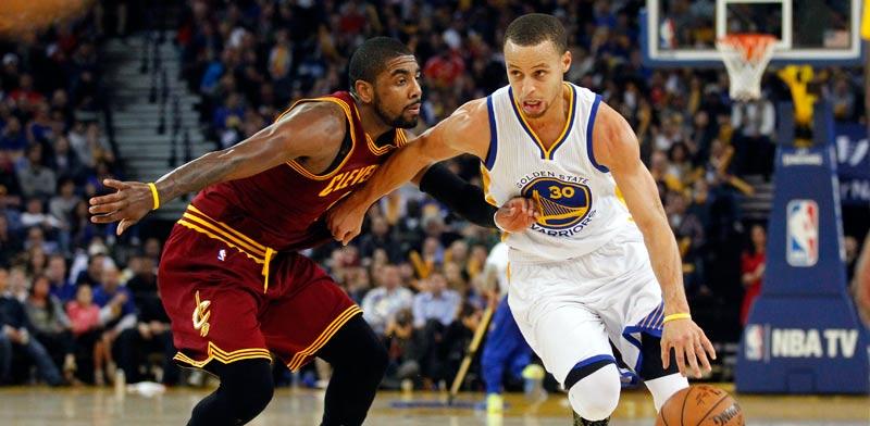 סטפן קארי מול קיירי אירווינג, NBA / צלם: רויטרס