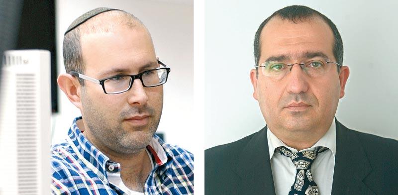 שמעון אלקבץ ואלעד טנא / צילום: יחצ