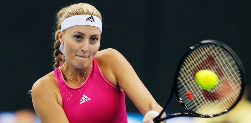 כריסטינה מלדנוביץ' ב-IPTL, טורניר הטניס הפרטי הבינלאומי / צלם: רויטרס